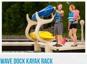 Wave Armor kayak rack